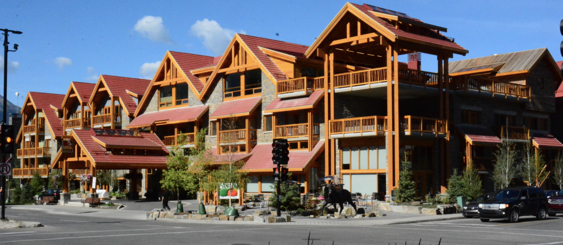 To ensure the new Moose Hotel & Suites in Banff, Alberta, could withstand the subarctic climate, designers specified a concrete tile roofing system.