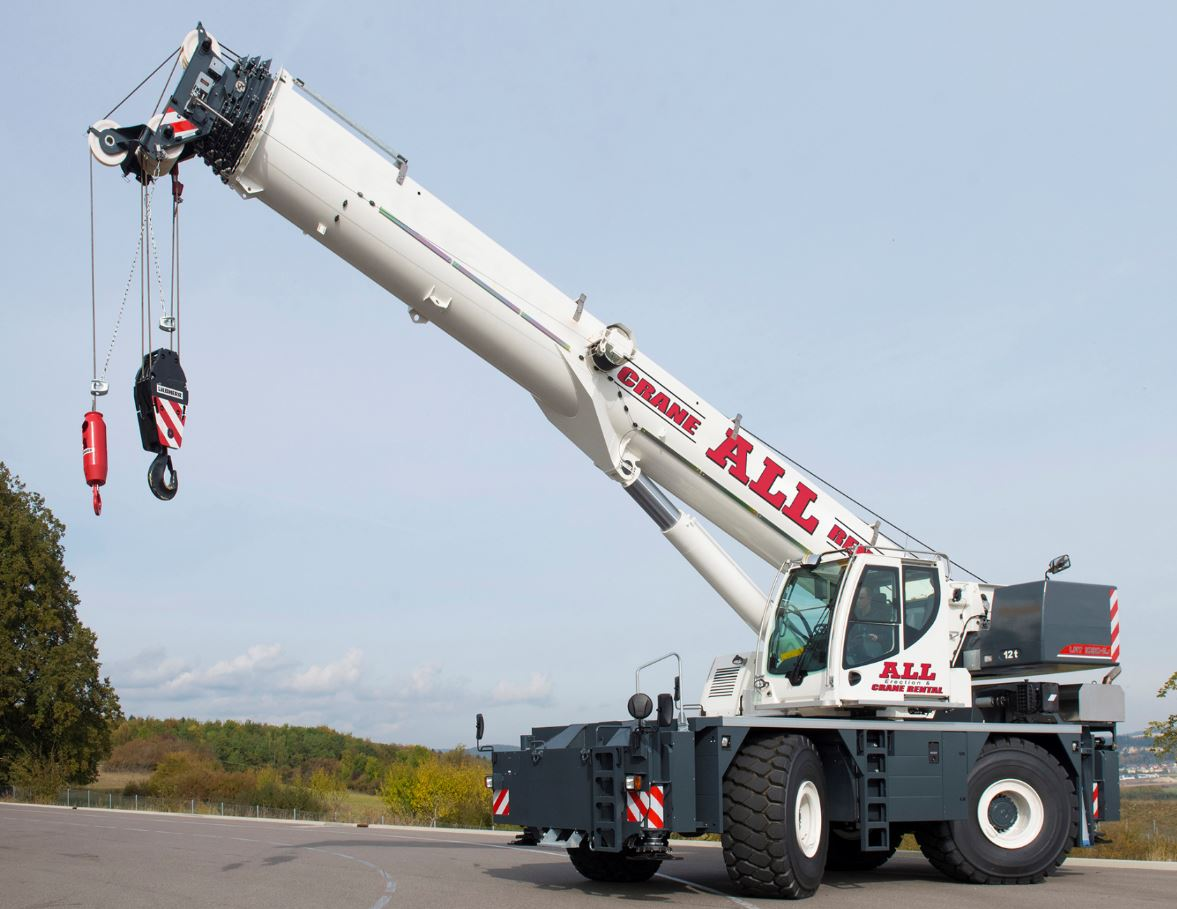 Boom Crane Offers Safety Innovation Roofing