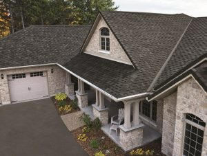 IKO offers an asphalt roofing solution as an alternative to wood shakes.