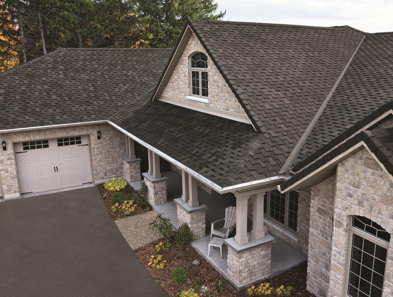 Asphalt Roofing Solution Provides Cedar Shake Alternative