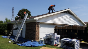 Although the homes chosen for restoration are usually small, Zazo says they often have extensive damage and four or five layers of shingles.