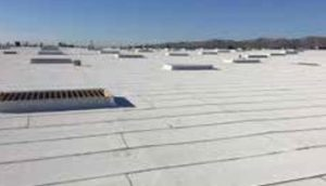 The reflective granulated cap sheet may be used as a cap or flashing sheet in built-up roof systems.