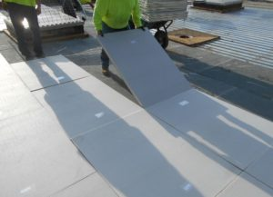Because Rich-E-Board roofing insulation is light and easy to install, it lowers the cost of delivery and handling and can reduce labor costs by more than half.