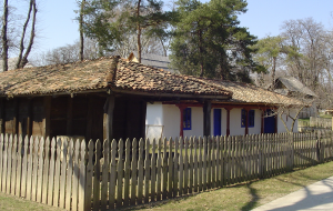 Photo 15. This house in Dobrogea county features a ceramic tile roof. Village Museum, Bucharest. Photo: Ana-Maria Dabija.