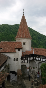 Photo 18. A view of the inner courtyard of the Bran Castle, 14th century. Photo: Ana-Maria Dabija.