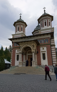 Photo 23. Sinaia Monastery. The Holy Trinity church, built in the 19th century Photo: Ana-Maria Dabija.
