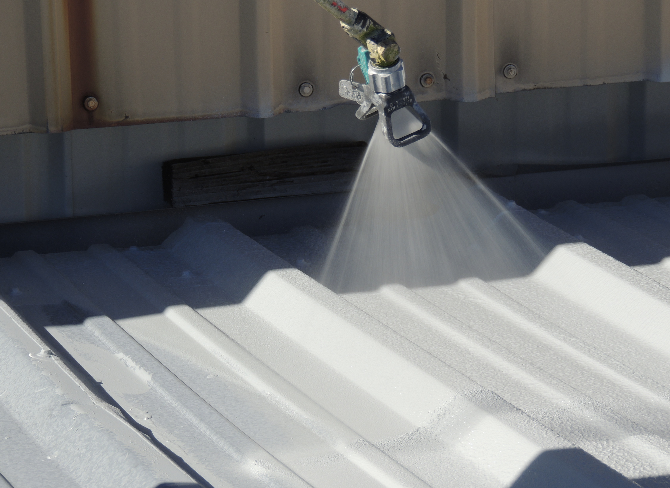 Firestone Building Products offers Industrial Elastomeric Roof Coatings for metal roofs.