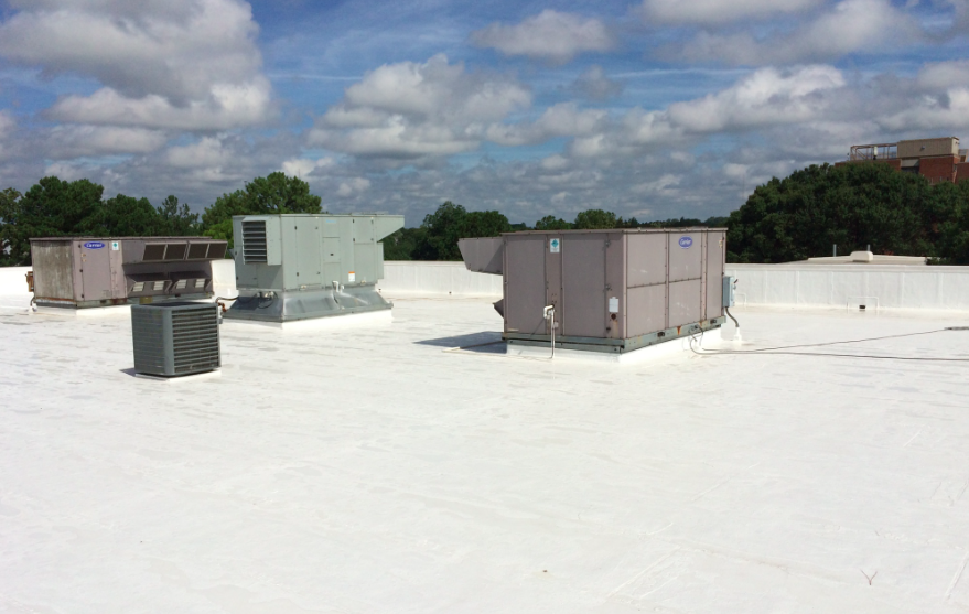 NTEC Systems applied a high-solids silicone coating