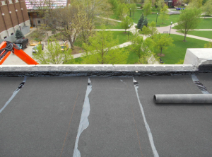 Associated Roofing Professionals installed a new modified bitumen roof system
