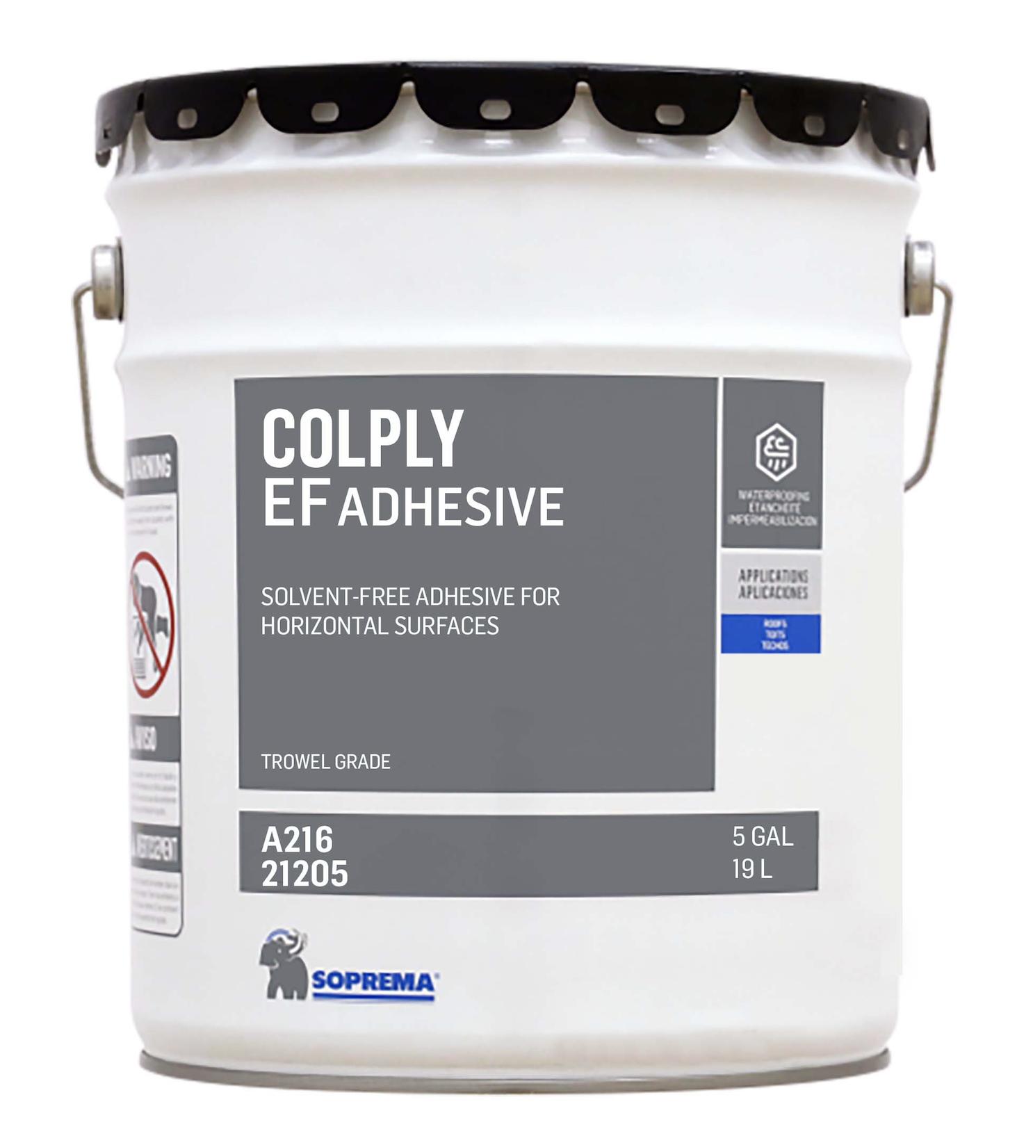 Soprema offers COLPLY EF adhesive