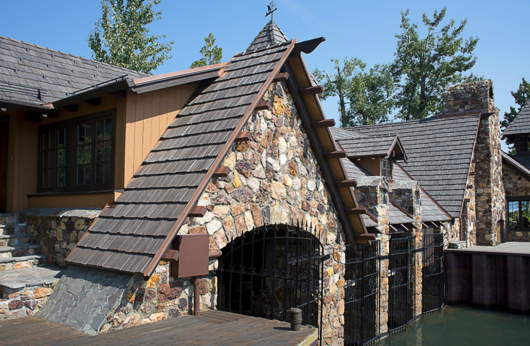 Owners Chose The Bellaforté Polymer Shake Tiles From Davinci Roofscapes Which Offered Cl A Fire And 4 Impact Ratings Photos