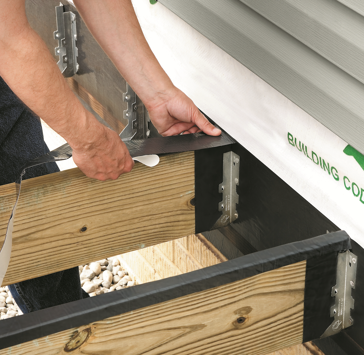 Waterproofing Membrane Designed To Protect Wood And Metal