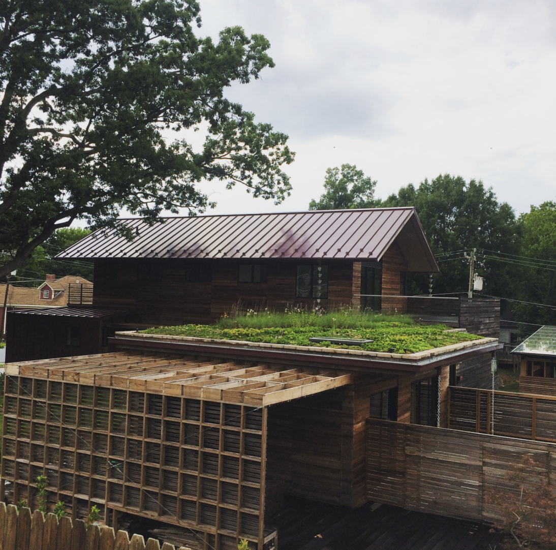 Green And Sustainable Roof Systems Highlight Durham Custom Home Roofing