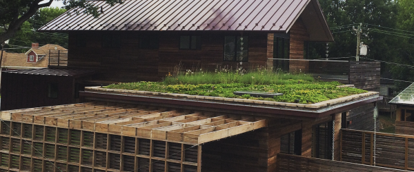 Green and Sustainable Roof Systems Highlight Durham Custom Home