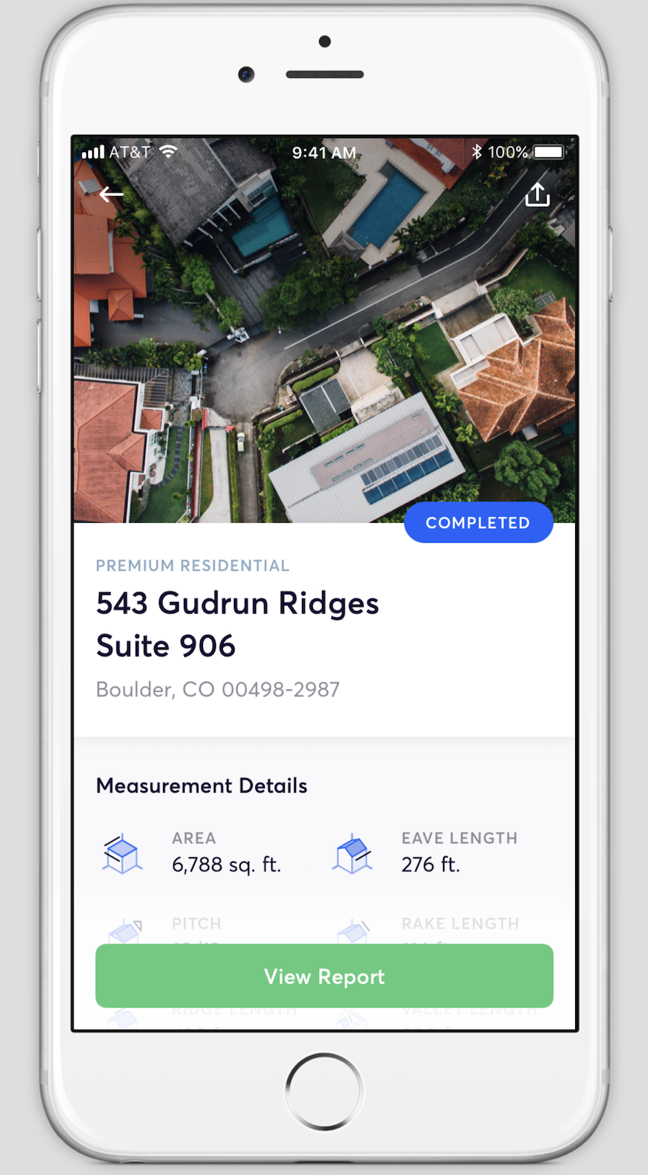 New EagleView Mobile App
