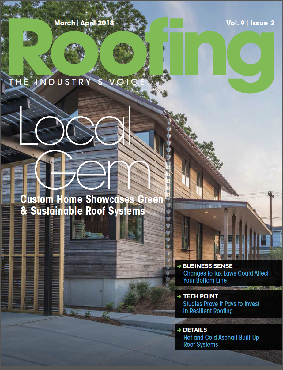 Roofing March/April 2018
