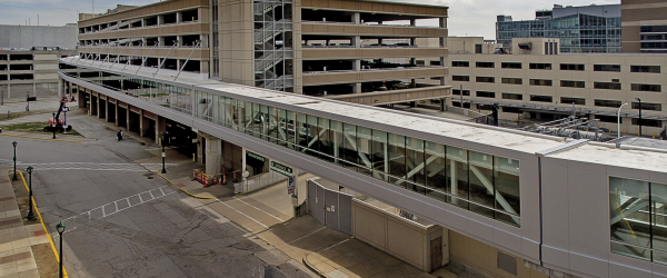 Hospital Pedestrian Overpass Poses Logistical and Safety Challenges