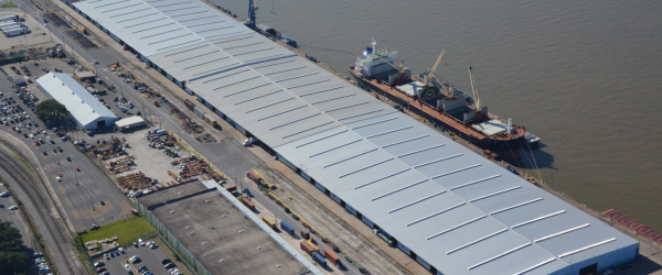 Coordination Is the Key to Re-Roofing Active Port Terminal