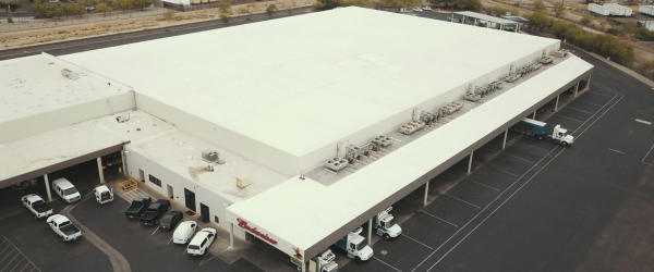 Roofing Project Keeps Arizona Warehouse Chill