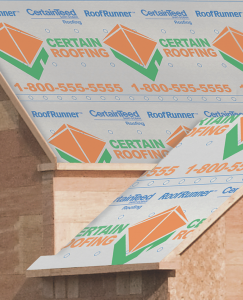 CertainTeed's RoofRunner underlayment can now be customized