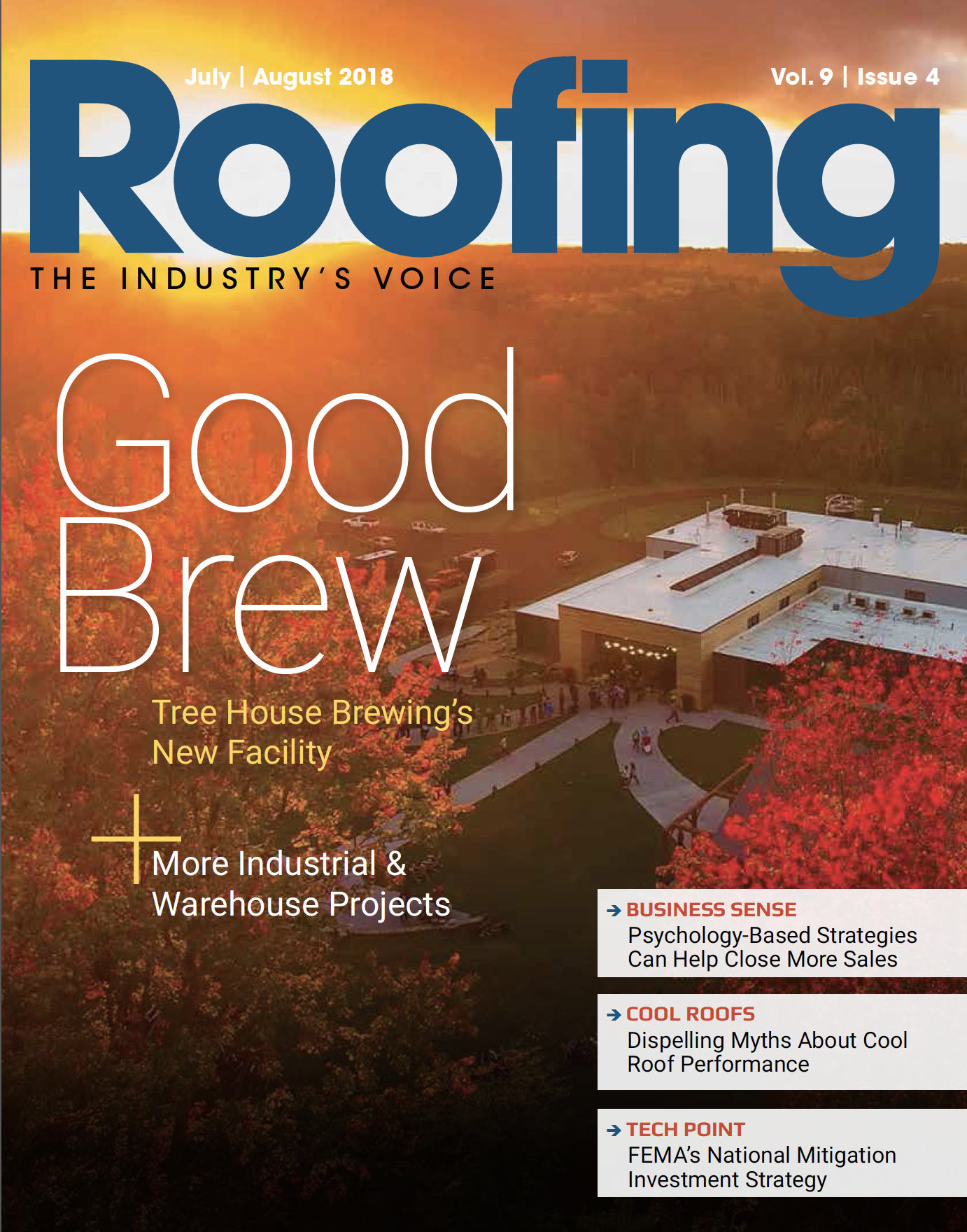 Roofing July/August 2018