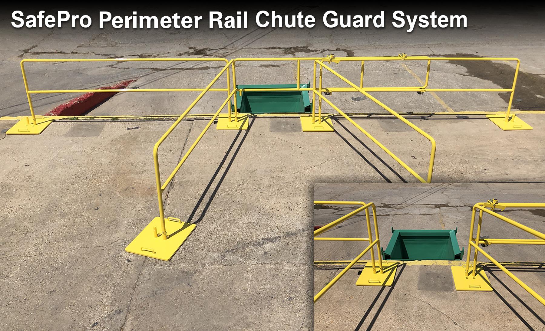 Step Ladder Gs Manufacturers Mail: New Perimeter Rail Chute Guard System Meets OSHA