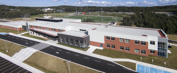 Roof System Helps School Stand Up to Severe North Atlantic Weather
