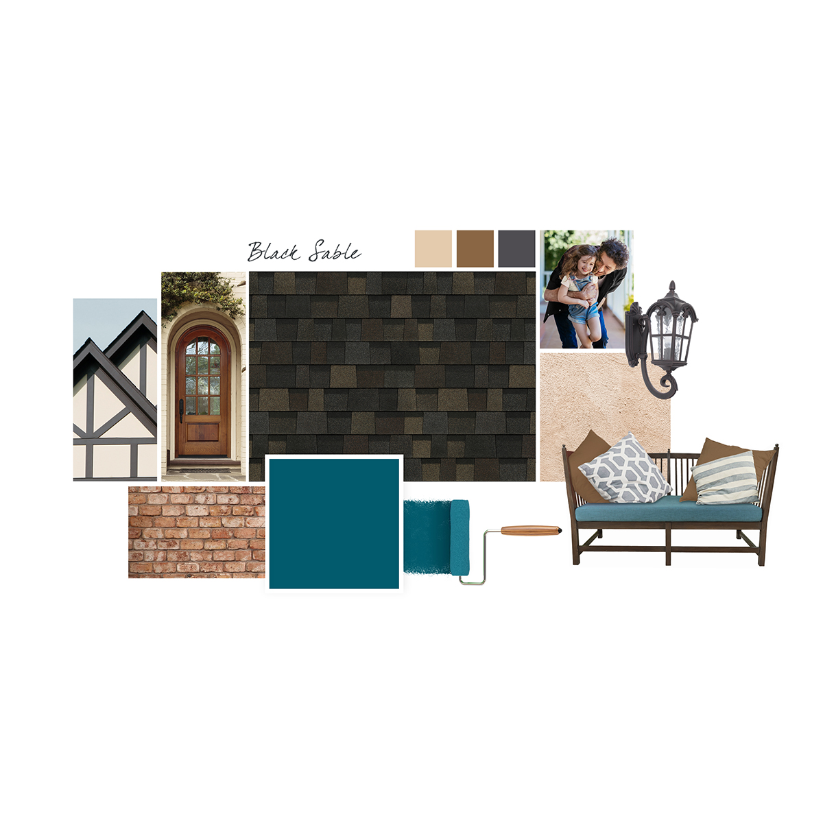 Owens Corning introduces Black Sable as the 2019 Shingle Color of the Year.