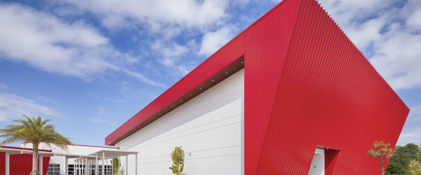 Recreation Center's Innovative Roof and Wall Systems Provide Added Durability