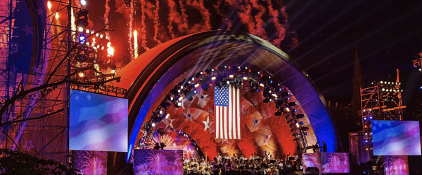 The Hatch Memorial Shell Shows Off New Roof at 4th of July Celebration