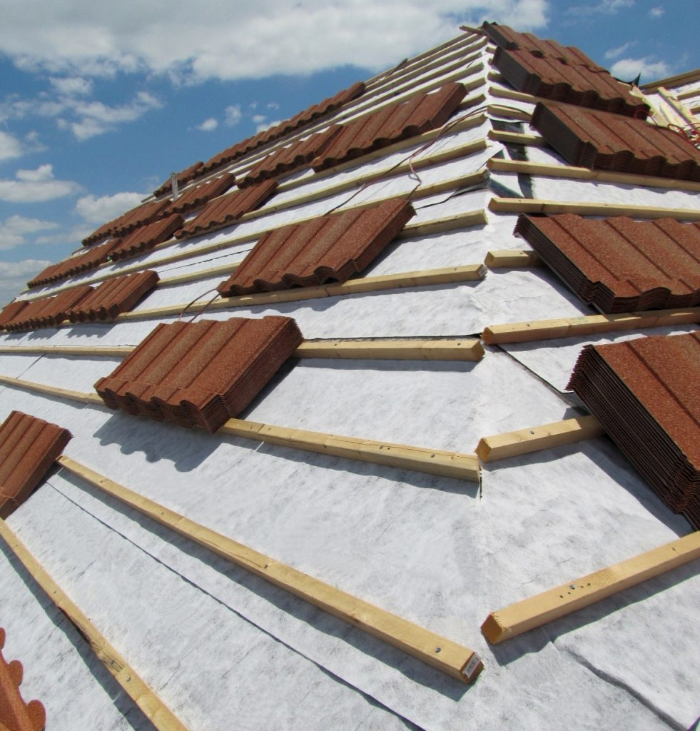 Self Adhering High Temperature Roofing Underlayment Roofing