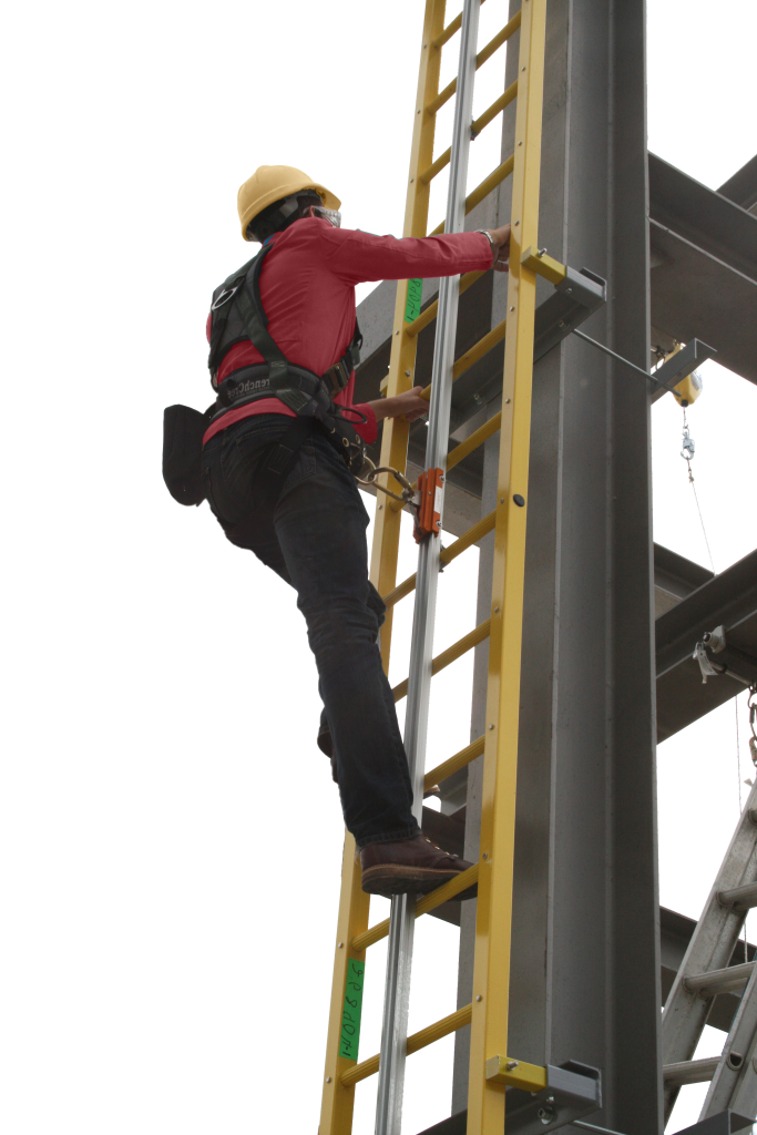 Ladder Personal Fall Arrest Systems Comply With Osha
