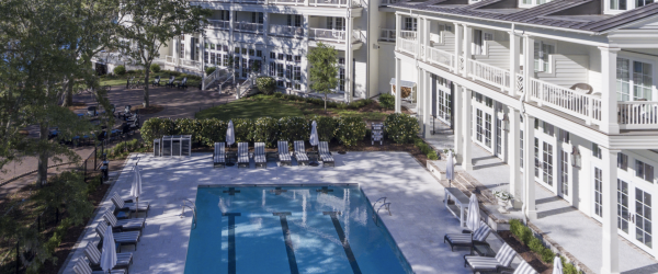 South Carolina Resort's Metal Roof Complements Classic Low Country Architecture