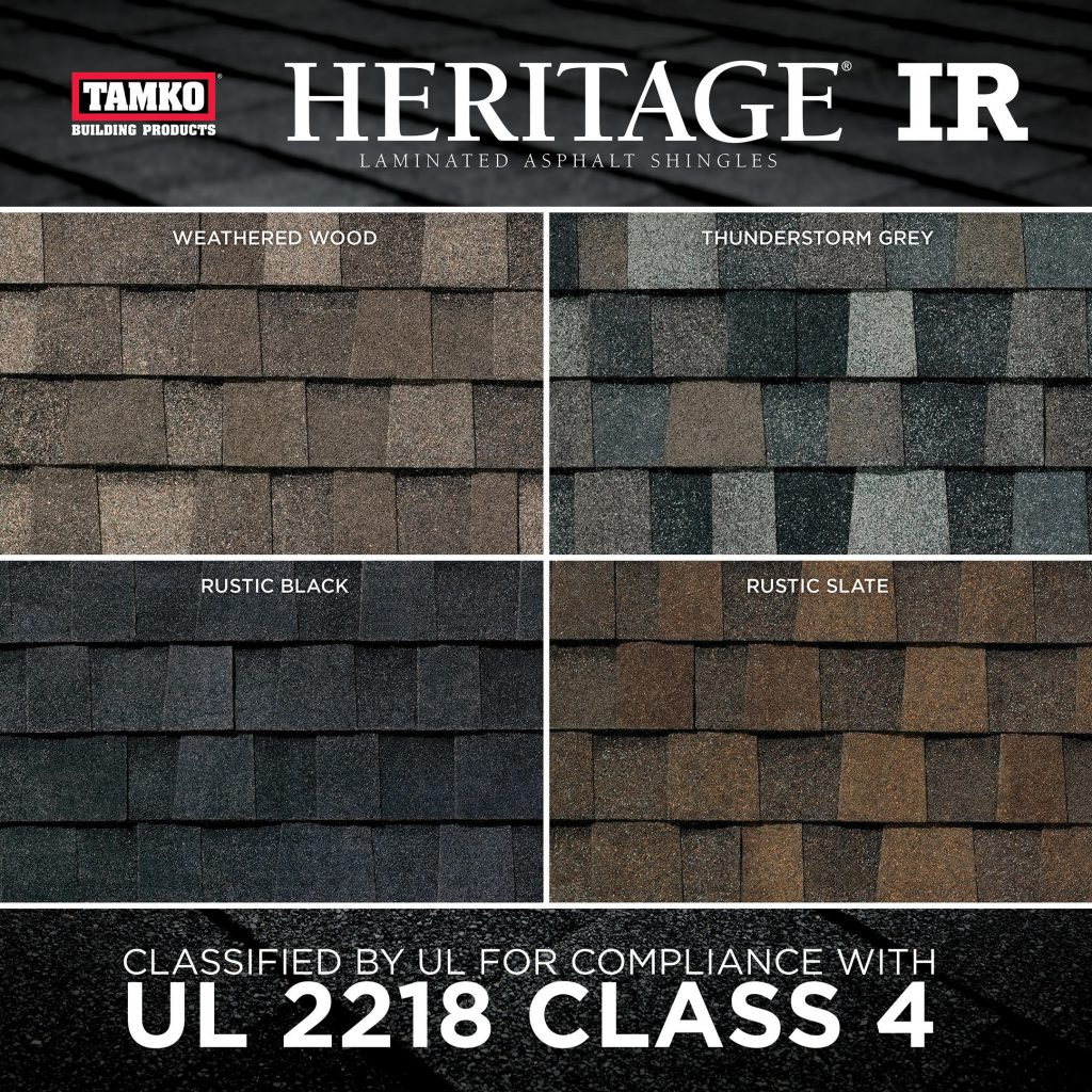 New Ir Shingle Receives Highest Impact Resistance Rating