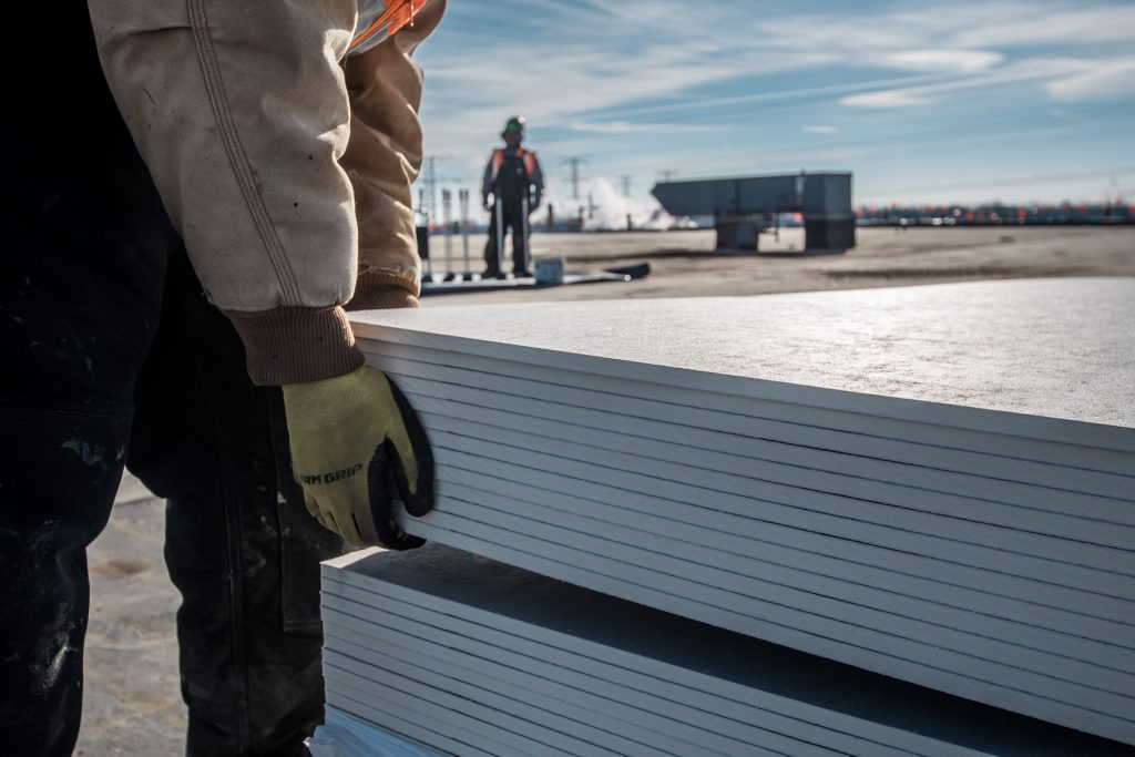 New High Density Polyiso Cover Board Offers Grade 1