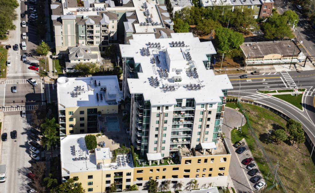 A Roof Coating Is the Right Answer for Florida Condo Complex