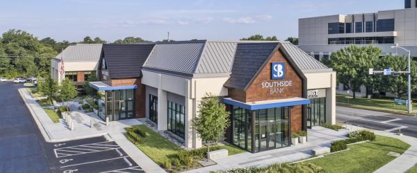 Metal Tiles Help Modernize Texas Bank's Building and Brand