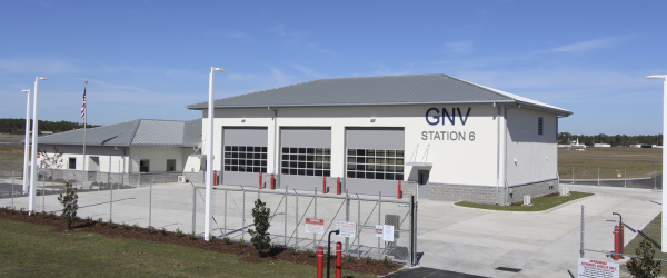 Putting a Lid on Gainesville's New Airport Fire Station