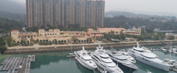 Roof of Hong Kong's Premier Yacht Club Gets a Major Facelift