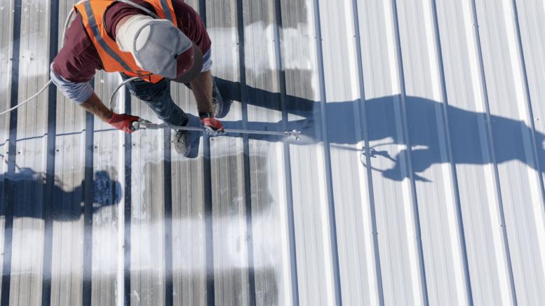GacoFlex A47, an acrylic elastomeric roof coating