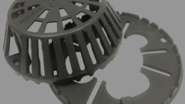 Marathon Roofing Cast Iron Retrofit Ring and Dome