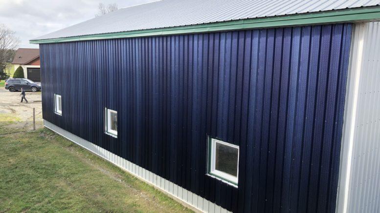 ATAS Solar Air Heating Wall Panel
