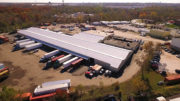 When O.S.T. Trucking called upon Moser Roofing Solutions to overhaul its 68,000 square-foot warehouse, the team ecommended Retro-R® panels manufactured by MBCI, which are designed to lay directly over an existing metal roof, eliminating costly disruptions to operations.